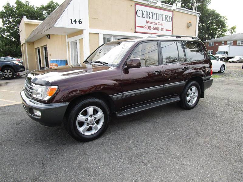 2003 Toyota Land Cruiser For Sale At CERTIFIED MOTORCAR LLC In Roselle Park  NJ