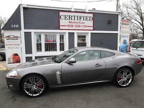 2009 Jaguar XK XKR Portfolio for sale at CERTIFIED MOTORCAR LLC in Roselle Park NJ