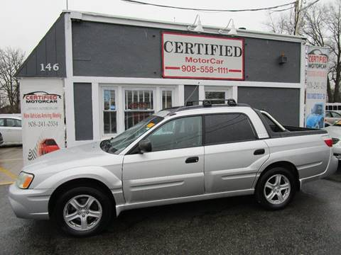 2005 Subaru Baja Sport for sale at CERTIFIED MOTORCAR LLC in Roselle Park NJ