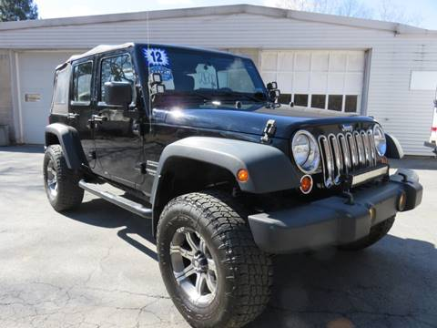 2012 Jeep Wrangler Unlimited for sale in Bangor, PA