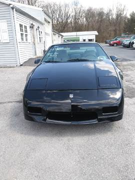 1986 Pontiac Fiero for sale in Carlisle, PA