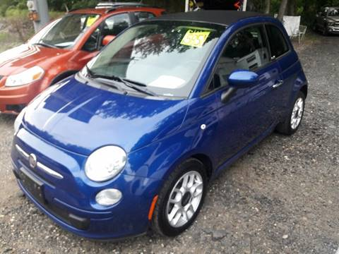 2012 FIAT 500c for sale at Ray's Auto Sales in Elmer NJ