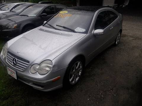 2004 Mercedes-Benz C-Class for sale at Ray's Auto Sales in Elmer NJ