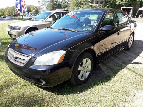 2003 Nissan Altima for sale at Ray's Auto Sales in Elmer NJ