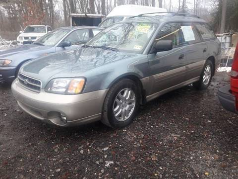 2002 Subaru Outback for sale at Ray's Auto Sales in Elmer NJ