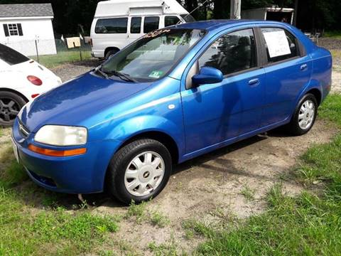 Used 2005 Chevrolet Aveo For Sale In New Bedford Ma Carsforsale