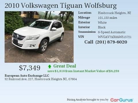 2010 Volkswagen Tiguan for sale in Hasbrouck Heights, NJ