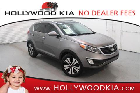 2013 Kia Sportage for sale in Hollywood, FL