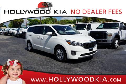 2016 Kia Sedona for sale in Hollywood, FL