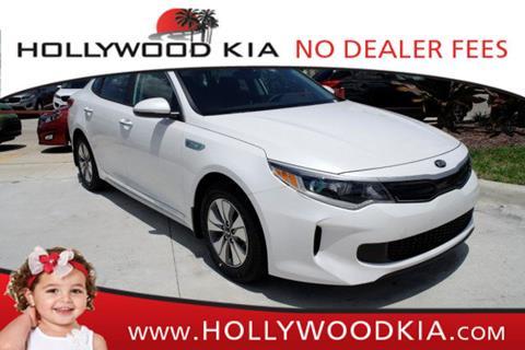 2017 Kia Optima Hybrid for sale in Hollywood, FL