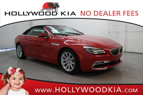 2016 BMW 6 Series for sale in Hollywood, FL