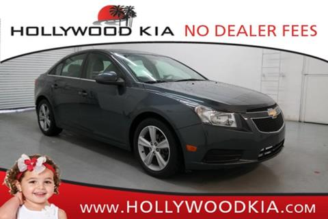 2013 Chevrolet Cruze for sale in Hollywood, FL
