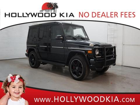 2014 Mercedes-Benz G-Class for sale in Hollywood, FL