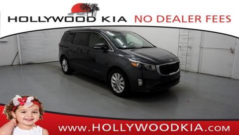 2015 Kia Sedona for sale in Hollywood, FL