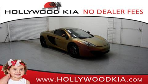 2014 McLaren MP4-12C Spider for sale in Hollywood, FL