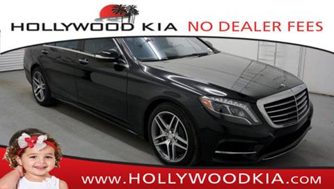 2014 Mercedes-Benz S-Class for sale in Hollywood, FL