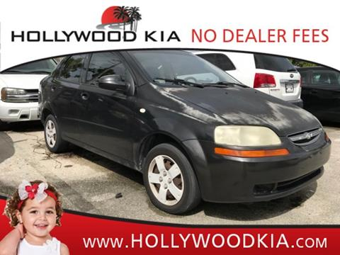 2006 Chevrolet Aveo for sale in Hollywood, FL