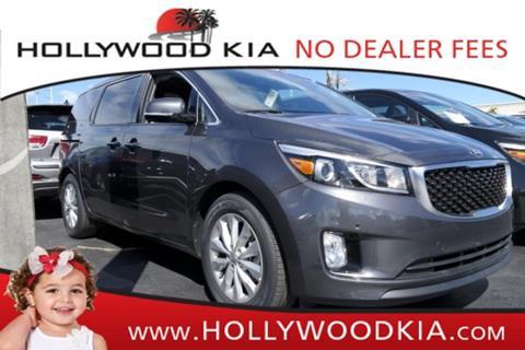 2017 Kia Sedona for sale in Hollywood, FL