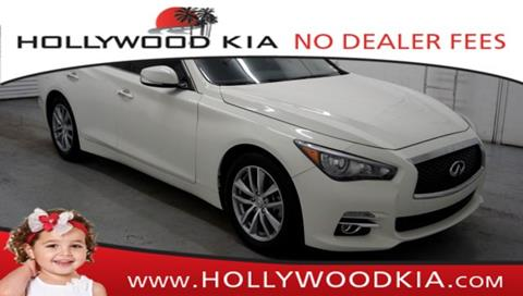 2017 Infiniti Q50 for sale in Hollywood, FL