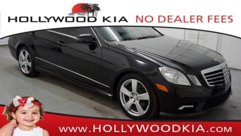 2011 Mercedes-Benz E-Class for sale in Hollywood, FL
