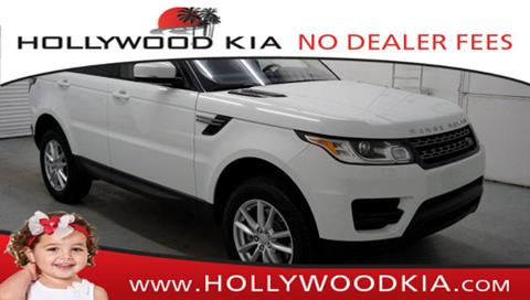 2017 Land Rover Range Rover Sport for sale in Hollywood, FL