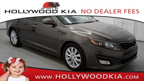 2014 Kia Optima for sale in Hollywood, FL