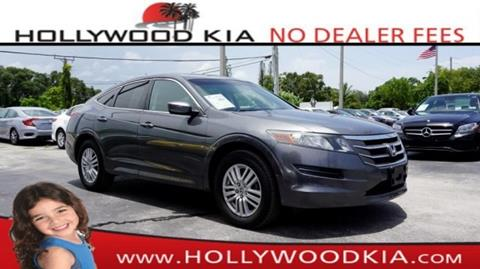 2012 Honda Crosstour for sale in Hollywood, FL