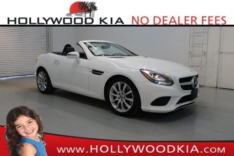 2017 Mercedes-Benz SLC for sale in Hollywood, FL