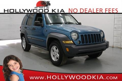 2005 Jeep Liberty for sale in Hollywood, FL