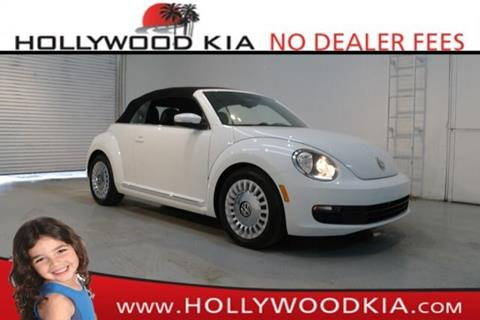 2016 Volkswagen Beetle for sale in Hollywood, FL