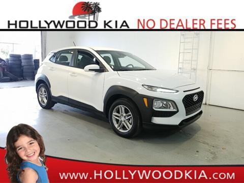 2019 Hyundai Kona for sale in Hollywood, FL
