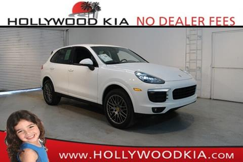 2017 Porsche Cayenne for sale in Hollywood, FL