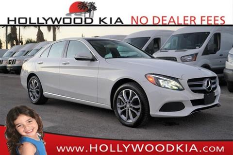 2015 Mercedes-Benz C-Class for sale in Hollywood, FL
