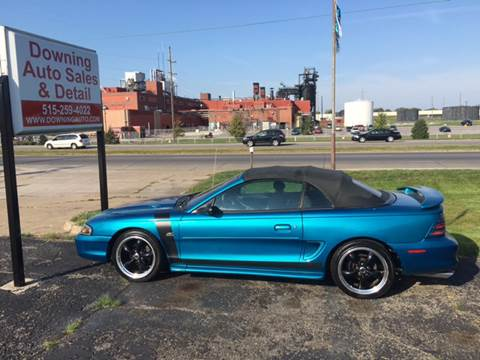 1994 Ford Mustang for sale at Downing Auto Sales in Des Moines IA