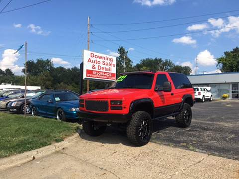 1994 Chevrolet Blazer for sale at Downing Auto Sales in Des Moines IA