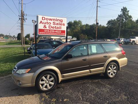2008 Subaru Outback for sale at Downing Auto Sales in Des Moines IA