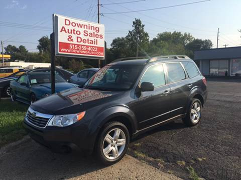 2010 Subaru Forester for sale at Downing Auto Sales in Des Moines IA