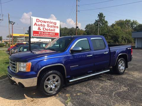 2010 GMC Sierra 1500 for sale at Downing Auto Sales in Des Moines IA