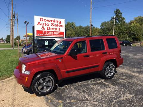 2008 Jeep Liberty for sale at Downing Auto Sales in Des Moines IA