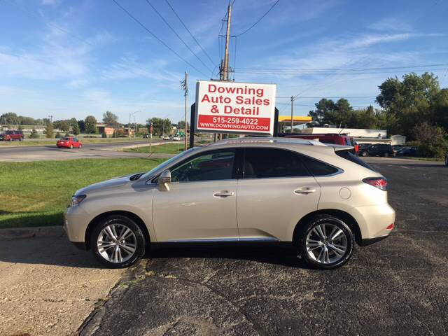 2015 Lexus RX 350 for sale at Downing Auto Sales in Des Moines IA