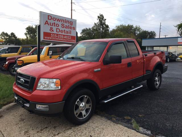 2004 ford f-150 fx4 in des moines ia - downing auto sales