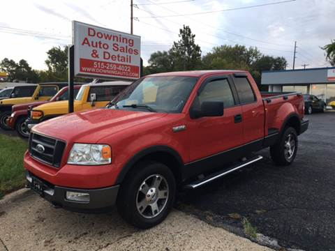 2004 Ford F-150 for sale at Downing Auto Sales in Des Moines IA
