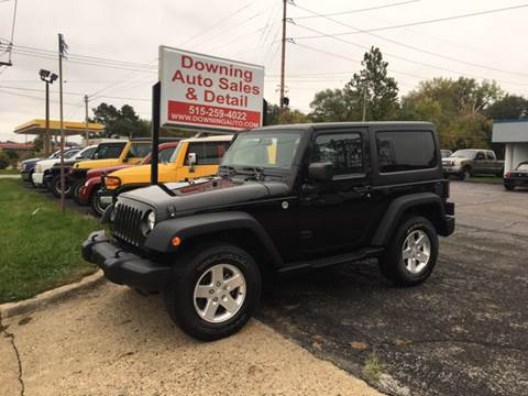 2013 Jeep Wrangler for sale in Des Moines, IA