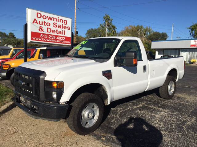 2008 ford f-250 super duty xl in des moines ia - downing auto sales