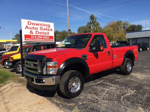 2008 Ford F-250 Super Duty for sale at Downing Auto Sales in Des Moines IA