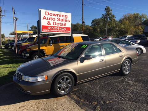 2001 Cadillac Seville for sale at Downing Auto Sales in Des Moines IA