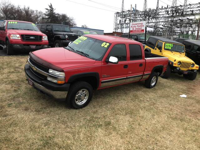 Beautiful 2002 Chevrolet Silverado 2500HD For Sale At Downing Auto Sales In Des  Moines IA
