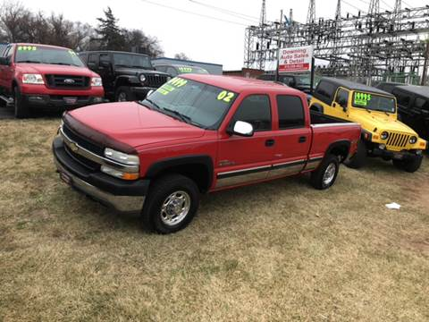 2002 Chevrolet Silverado 2500HD for sale at Downing Auto Sales in Des Moines IA