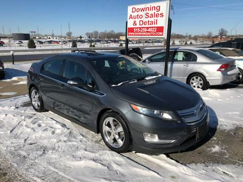 2011 Chevrolet Volt for sale at Downing Auto Sales in Des Moines IA