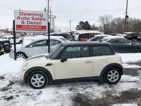 2009 MINI Cooper for sale at Downing Auto Sales in Des Moines IA